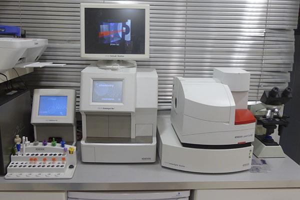 Analizador-hematologia-laboratorio